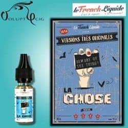 E-liquide LA CHOSE Le French Liquide 10ml