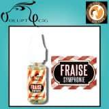 FRAISE SYMPHONIE 10ml gamme Le Coq Qui Vape