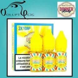 E-liquide LEMON TART 3x10ml Dinner Lady