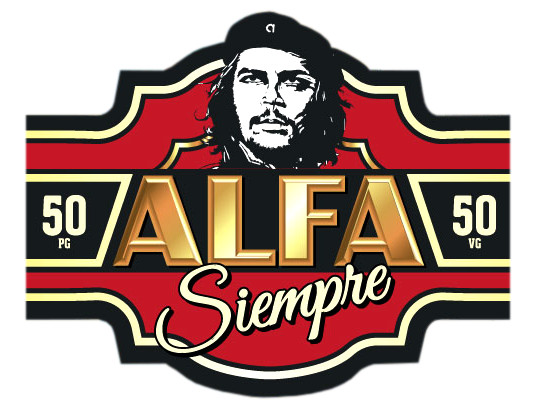 Collection Alfa Siempre par Alfaliquid