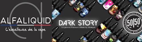 E liquide Premium gamme Dark Story Alfaliquid