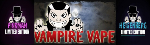 E-liquides Vampire Vape pour cigarettes électroniques
