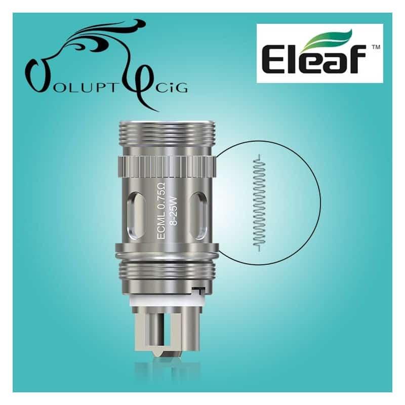 Resistance Eleaf ECML 0.75 Melo / Ijust - Cigarette électronique