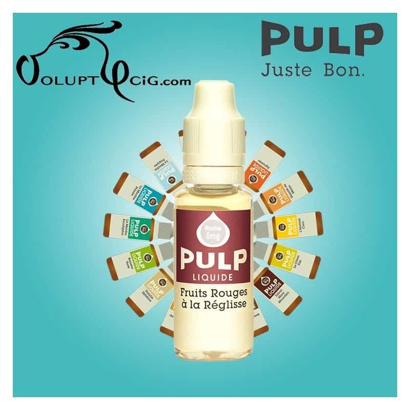 FRUITS ROUGES A LA REGLISSE E-Liquide Pulp - Eliquide français