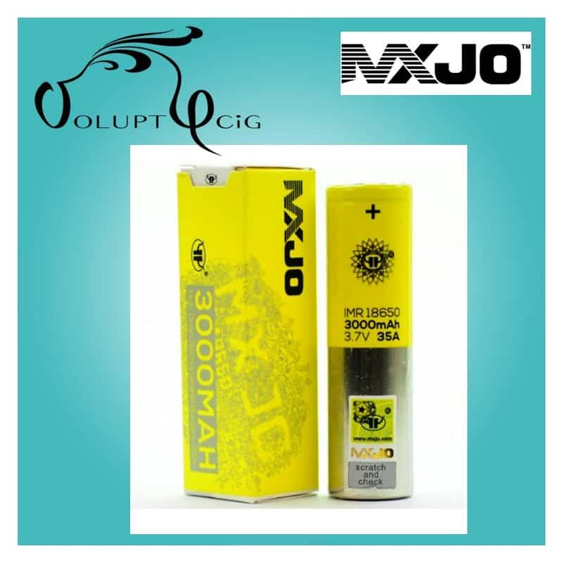 Accu MXJO 18650 3000 mAh 35A - Cigarette électronique