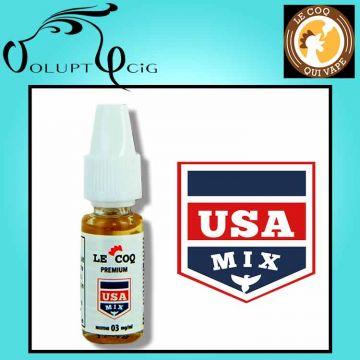 Classic USA MIX gamme Le Coq Qui Vape 10ml - Eliquide français