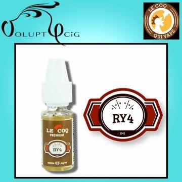 Classic RY4 gamme Le Coq Qui Vape 10ml - Eliquide français