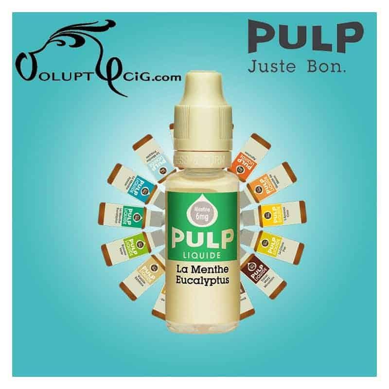 MENTHE EUCALYPTUS E-Liquide Pulp - Eliquide français