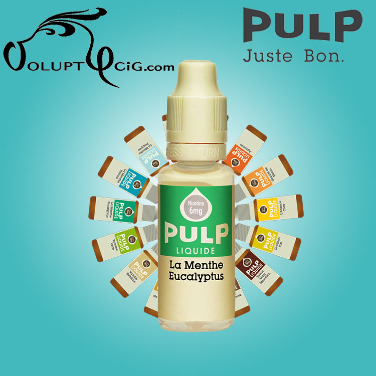 E-liquide PULP MENTHE EUCALYPTUS 10 ml