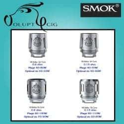 Résistance TFV8 BABY Q2 0.4 Ohm Dual Coil Smok - Cigarette électronique