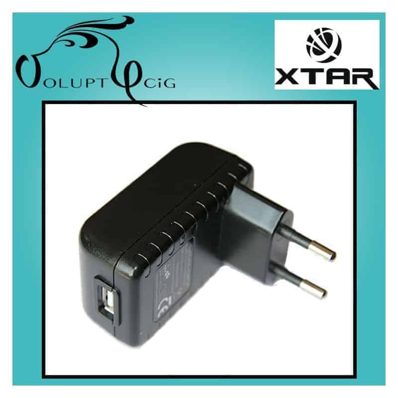 Adaptateur secteur - Chargeur Mural rapide 2.1A XTAR USB - Cigarette électronique