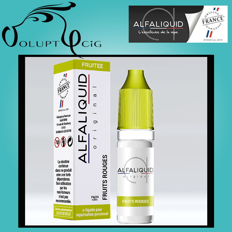 E-liquide Alfaliquid Fruits rouges