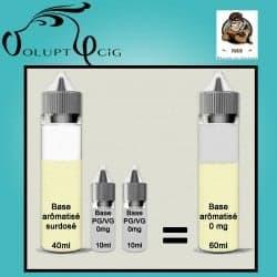 E-liquide EL GUSTO Vaporisterie 0mg cigarette electronique