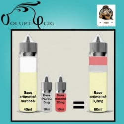 E-liquide EL GUSTO Vaporisterie 3mg cigarette electronique