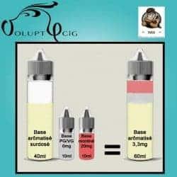 E-liquide YAOUNDE Vaporisterie 3mg Cigarette electronique