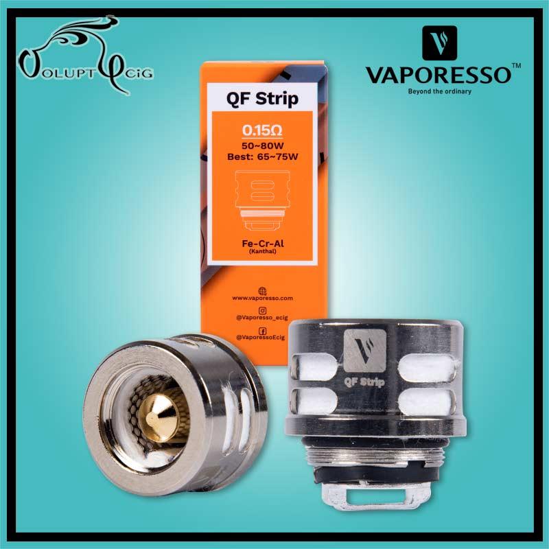 Résistances SKRR QF Strips 0.15 Ohm Vaporesso