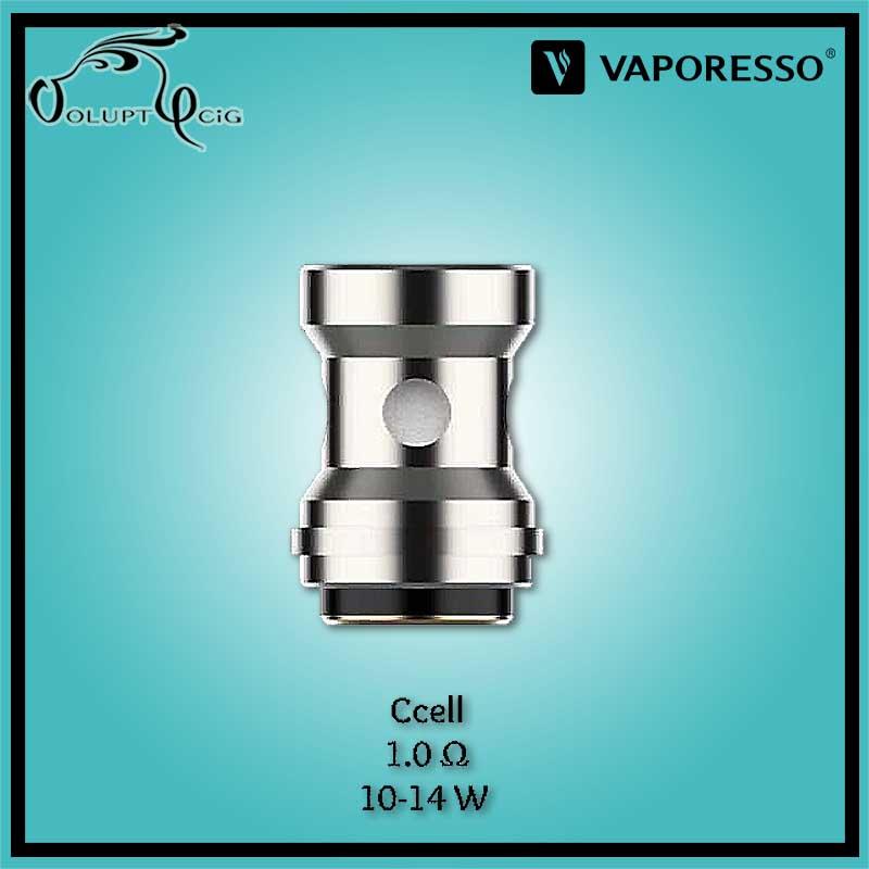 Résistance EUC CCELL 1.0 ohm Vaporesso - Cigarette électronique