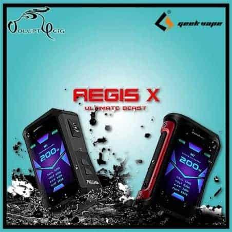 Box AEGIS X 200W Geekvape - cigarette électronique accu rechargeable