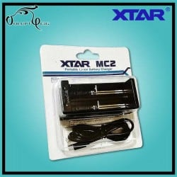 Chargeur Accu MC2 XTAR USB - Cigarette électronique