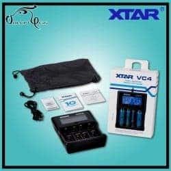 Chargeur Accu 18650 - VC4 XTAR USB