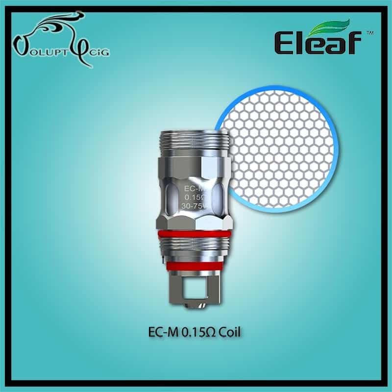 Résistances Eleaf MELO 5 EC-M Kanthal 0.15 - Cigarette électronique