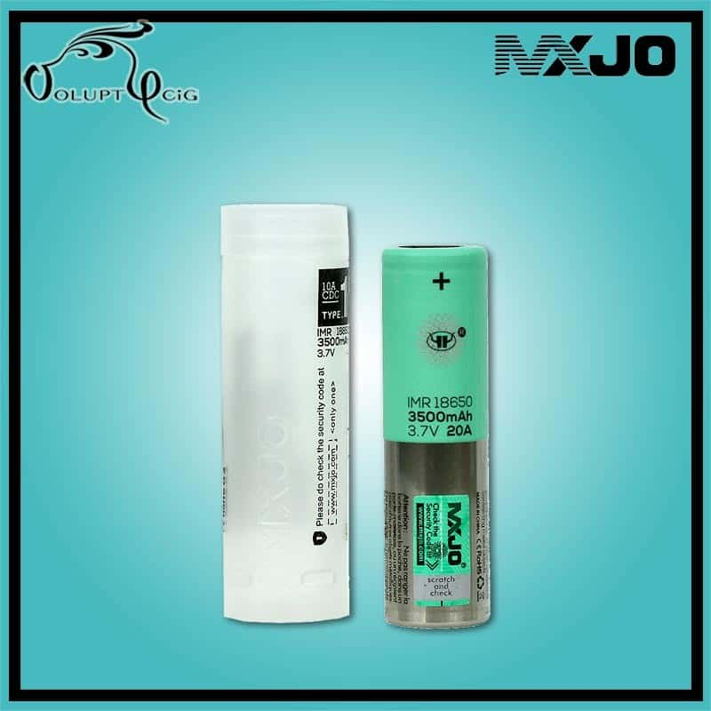 Accu MXJO IMR 18650 3500 mAh/20A - Cigarette électronique