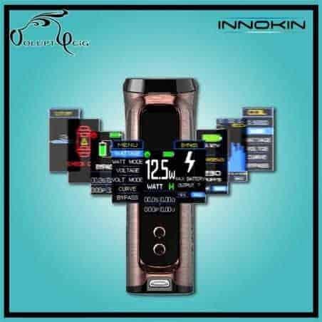 Kit KROMA-R 80W par Innokin - cigarette électronique accu rechargeable
