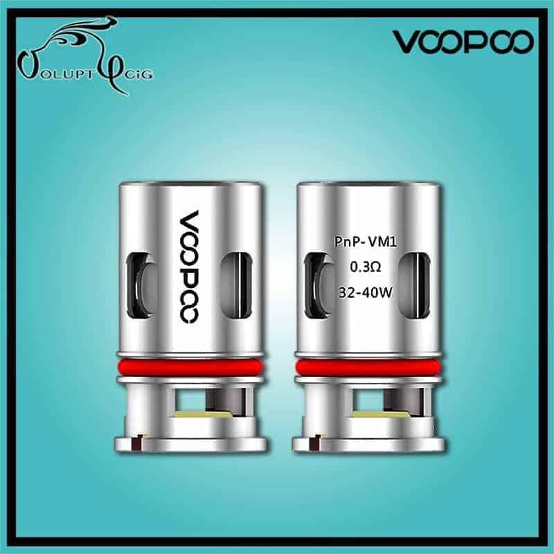 Résistance PnP VM1 0.3 ohm Drag Vinci Voopoo - Cigarette électronique Pod