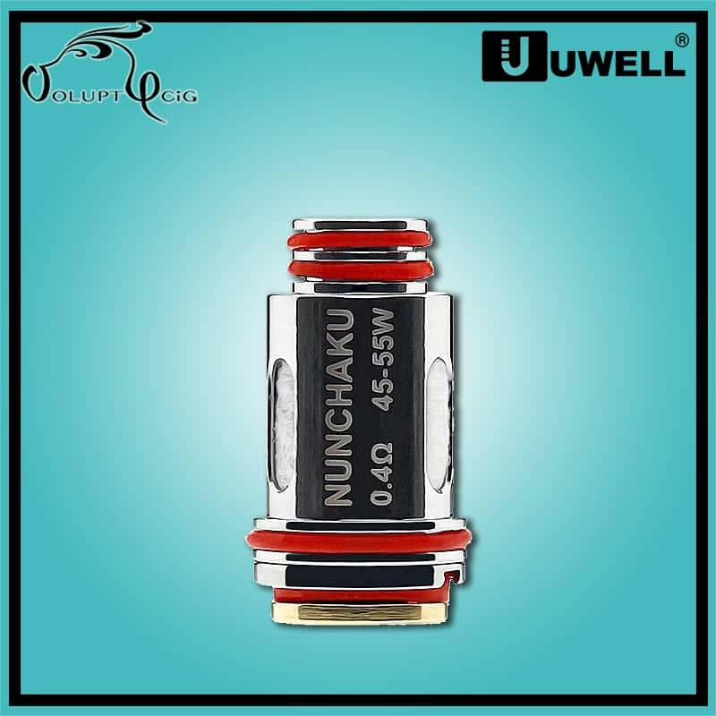 Résistance NUNCHAKU A1 0.4 Ohm Uwell - Cigarette électronique