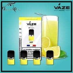 Cartouches x4 ULTRA LEMON Vaze