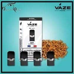 Cartouches x4 BLOND Vaze - Cigarette électronique Pod