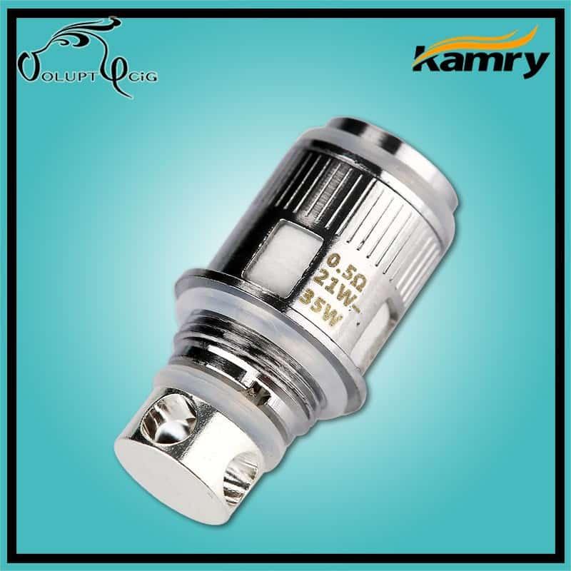 Résistances KAMRY K1000 0.5 ohm par Kamry - Cigarette électronique