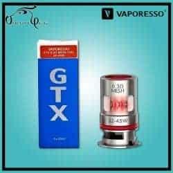 Résistances GTX MESH TARGET PM80 0.3 Ohm Vaporesso