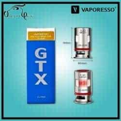 Résistances GTX MESH TARGET PM80 0.2 Ohm Vaporesso