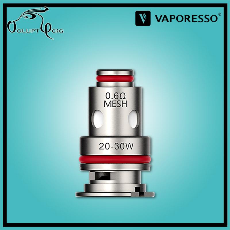 Résistances GTX MESH TARGET PM80 0.6 Ohm Vaporesso