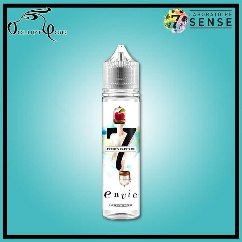 L'ENVIE 50 ml 7 Péchés Capitaux - Eliquide français arôme naturel sans additif