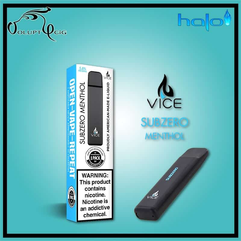 Pod VICE SUBZERO jetable Halo