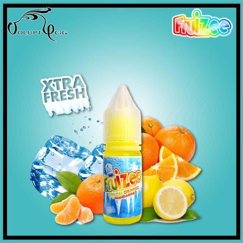 CITRON ORANGE MANDARINE 10 ml Fruizee