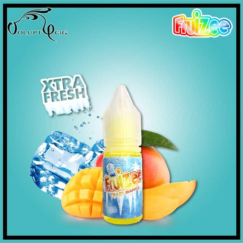 CRAZY MANGO 10 ml Fruizee Par Eliquid France