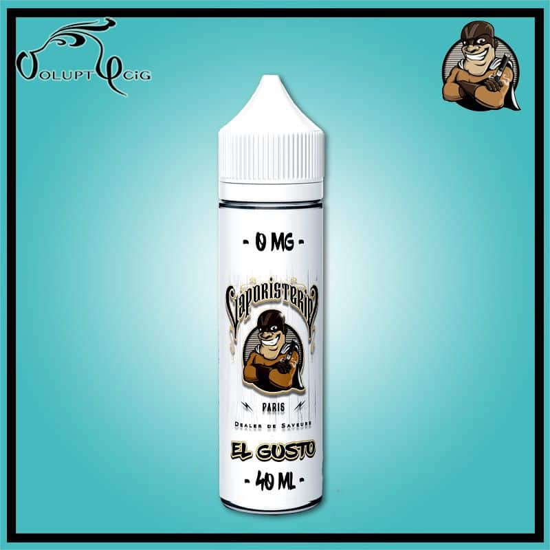 EL GUSTO 0 mg 60 ml (20 ml à booster) Vaporisterie