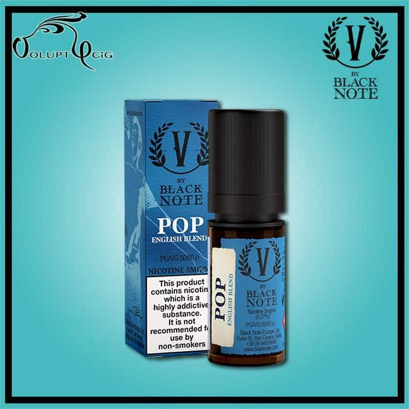 E-liquide POP (Hunter) 10ml V By Black Note Vaporificio - Eliquide macérat tabac sans additf