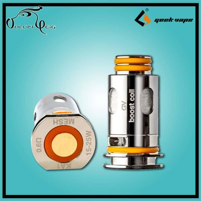 Résistances B Series 0.6 Geek Vape Aegis Boost - Cigarette électronique Pod