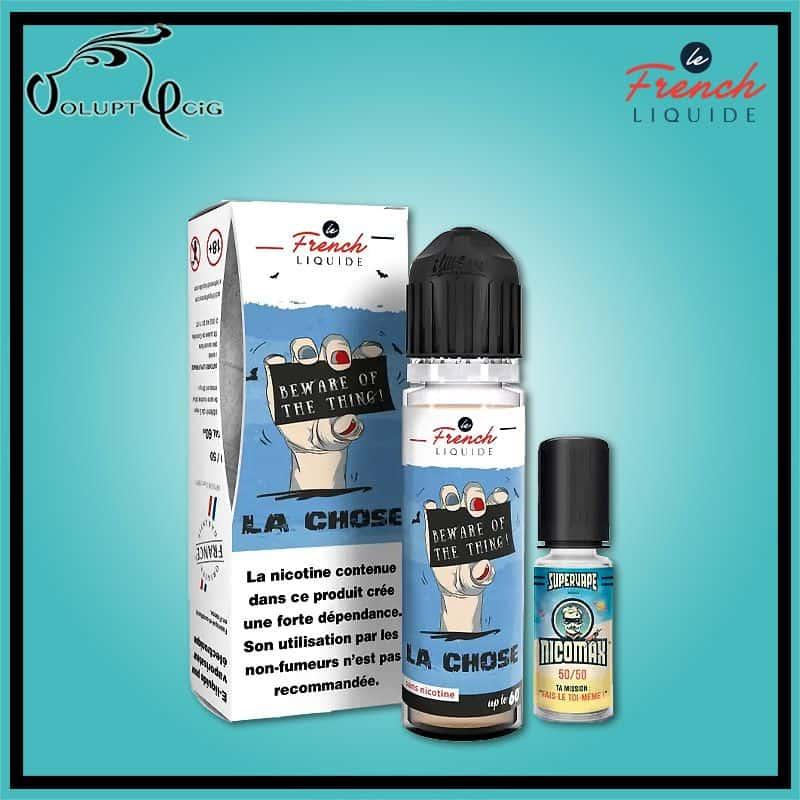 LA CHOSE EASY2SHAKE 50/50 60 ml Le French Liquide - Eliquide français