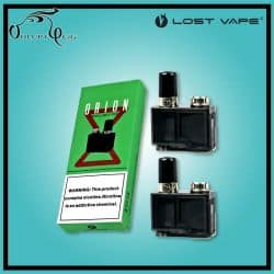 Pack 2 Cartouches / Pod ORION DNA 0.5 Ohm Lost Vape