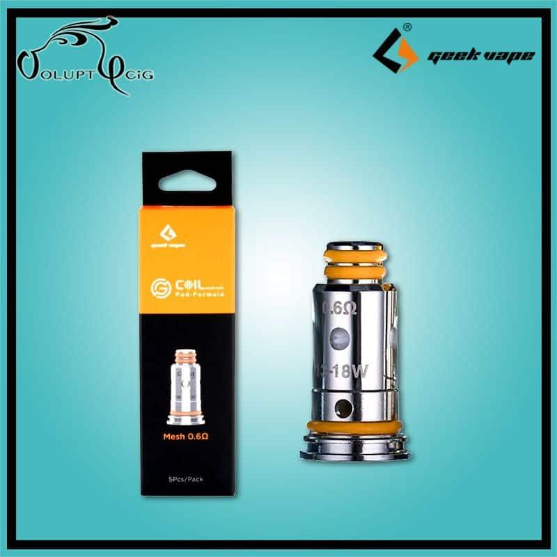 Résistances G Series 0.6 Geekvape Wenax - Cigarette électronique Pod