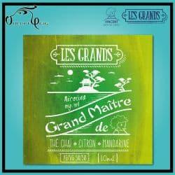 GRAND MAITRE 10ml Les Grands VDLV - Eliquide français arôme naturel sans additif