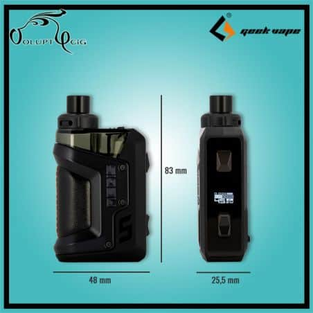 Kit Pod AEGIS HERO Geekvape dimensions