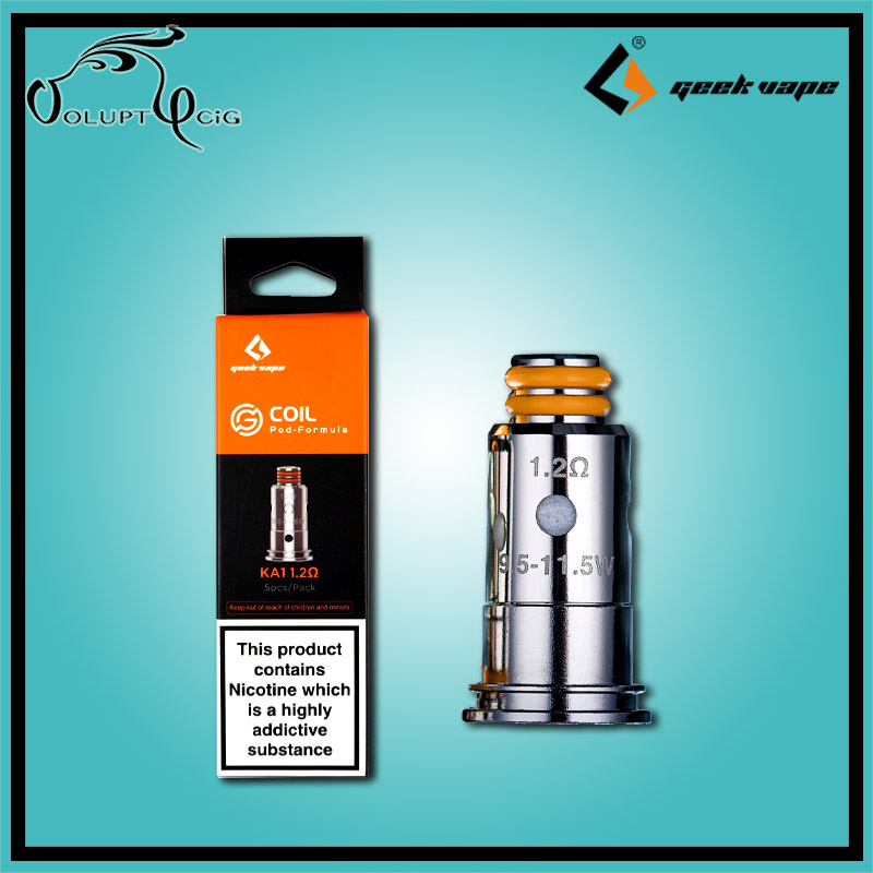 Résistances G Series 1.2 Geekvape Wenax - Cigarette électronique Pod