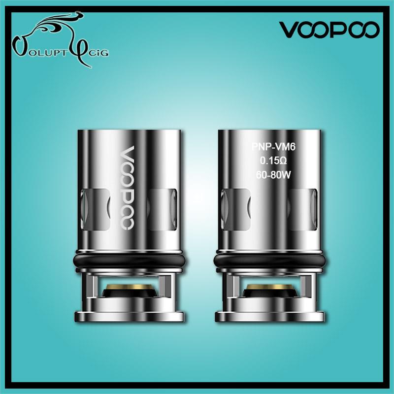 Résistance e-cigarette VINCI VM6 PnP 0.15 ohm Voopoo