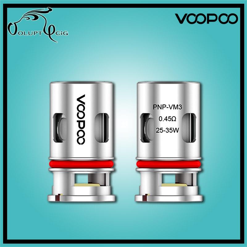 Résistance PnP VM3 MESH 0.45 ohm Drag Vinci Voopoo - Cigarette électronique Pod